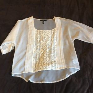 Jessica Simpson Lace Blouse